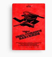 """Lienzo Cartel de la película - """"BASTERDS INGUROSAS"""""""