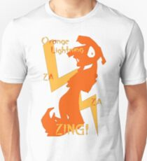Orange Lightning T-Shirt