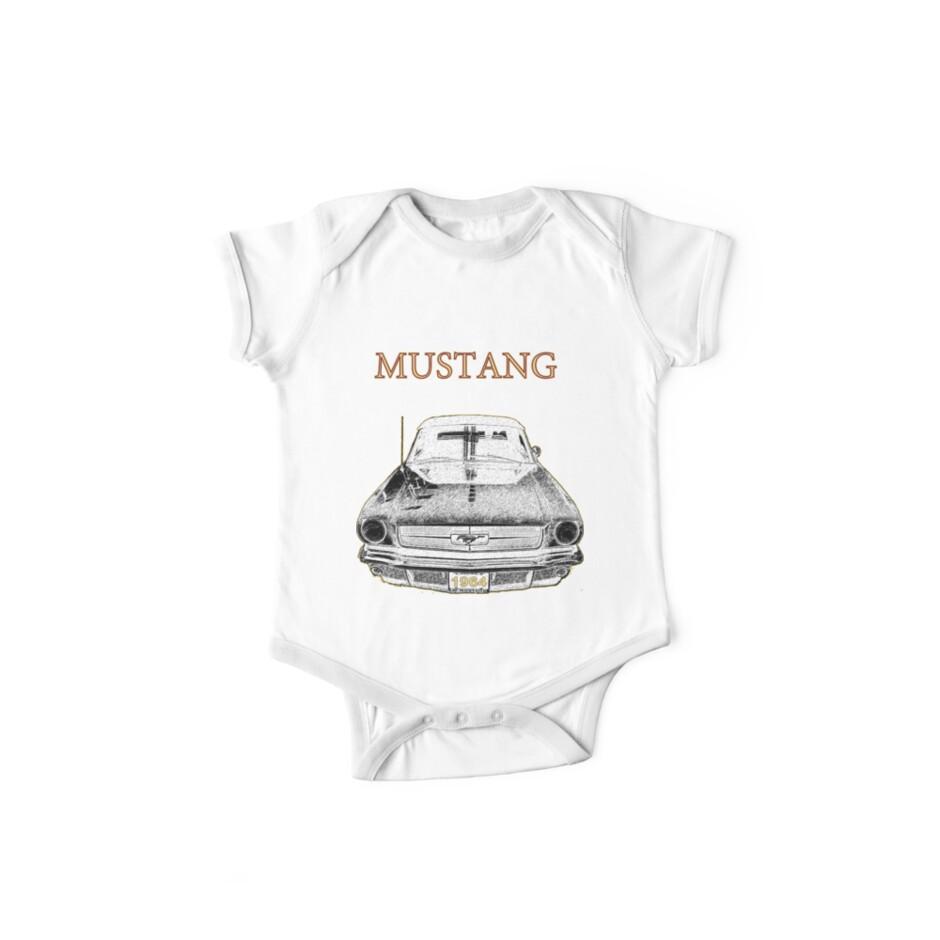 1964 Mustang by crimsontideguy