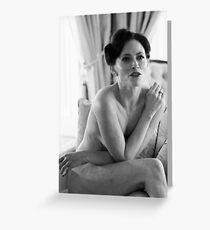 Irene Adler Greeting Card