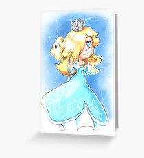 Chibi Rosalina Greeting Card