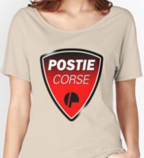 Postie Corse Women's Relaxed Fit T-Shirt