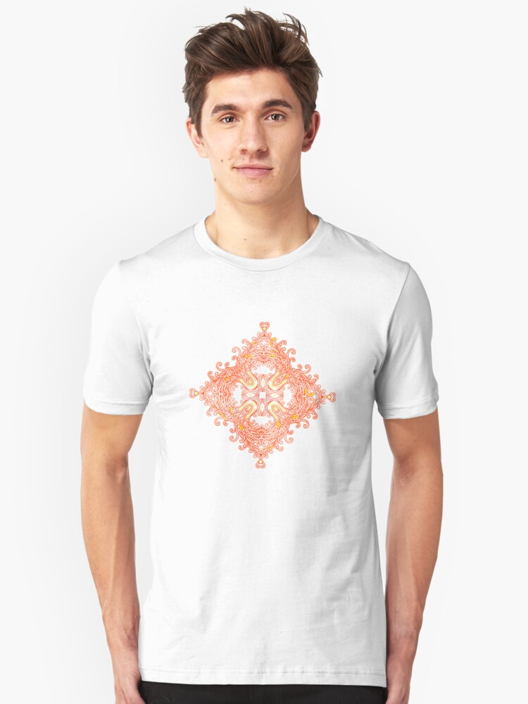 Colours & Abstract Unisex T-Shirt Front
