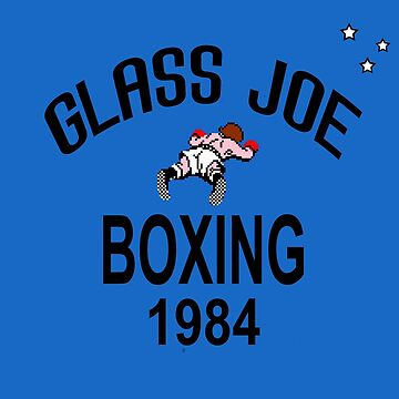 Punch-Out!!! Glass Joe Boxing by sinistergrynn