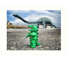 Road-trip photos: Dinosaur! Art Print