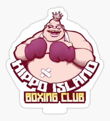 Hippo Island Boxing Club Sticker