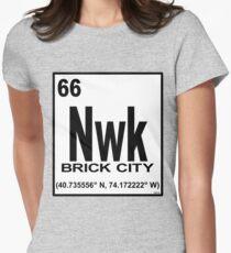 'Newark Element' Women's Fitted T-Shirt