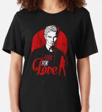 Camiseta ajustada Tonto por amor