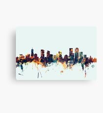 Denver Colorado Skyline Canvas Print