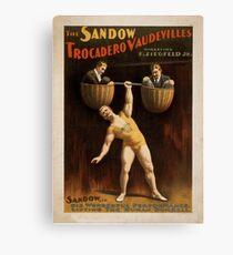 Vintage poster - Vaudeville Canvas Print