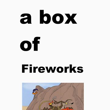 life is like a box of fireworks by Wokswagen