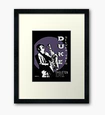 Duke Silver Live In Concert  Framed Print