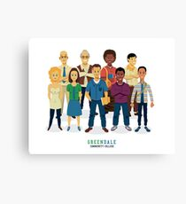 Greendale Canvas Print