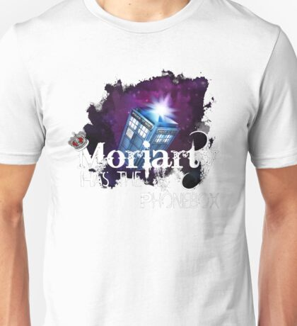 Moriarty has the Phonebox  Unisex T-Shirt