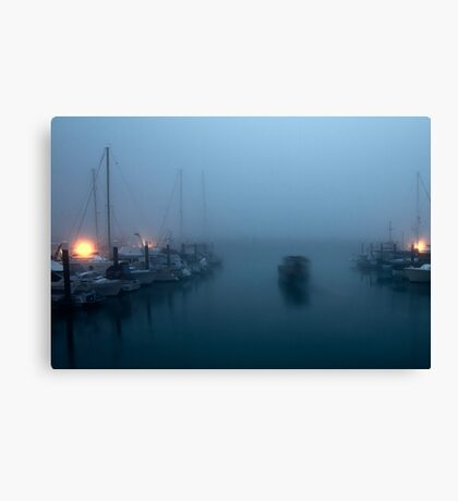 Early Morning Start Canvas Print