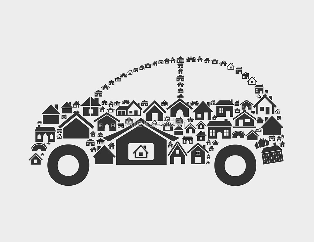 House the car by Aleksander1
