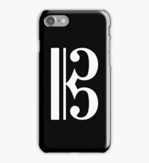 C Clef iPhone Case/Skin