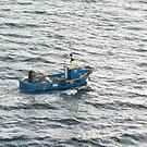 Little Blue Boat by Jim Sugrue