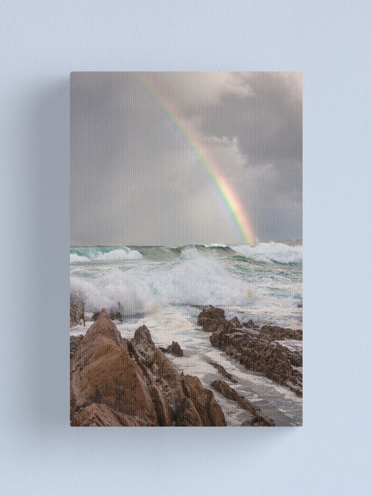 Alternate view of Rainbow over Yabarra Beach Canvas Print