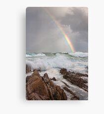 Rainbow over Yabarra Beach Canvas Print