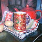 A Red Breakfast by Neale Sommersby