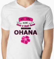 H50 Ohana Mens V-Neck T-Shirt