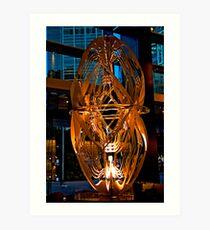 Lobby Sculpture Art Print