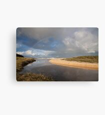 Rainbow over Yabarra Beach Canvas Print