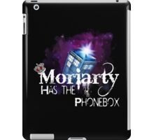 Moriarty has the Phonebox iPad Case/Skin