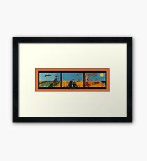Outback Australia Framed Print