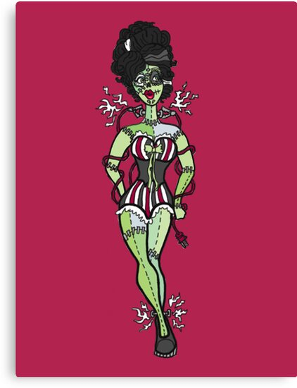 Sparky, Bride of Frankenstein  by painted-lizard