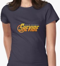 SheVibe Avengers Logo Women's Fitted T-Shirt