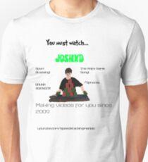 JoshXD: YouTube Sport Stacker T-Shirt