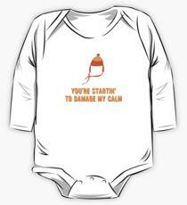 Jayne Hat Shirt - Damage My Calm One Piece - Long Sleeve