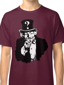 Anonymous Needs You Classic T-Shirt
