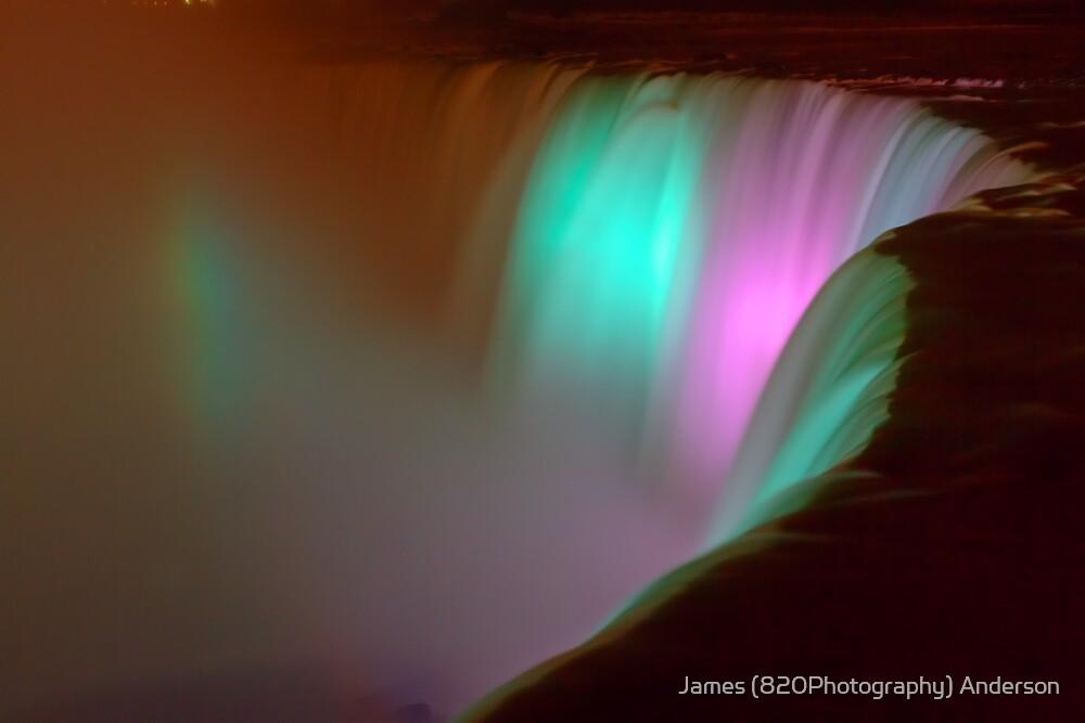 Niagara Falls in Silk by James Anderson