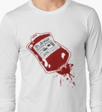 Dr. Acula's Blood Bank Long Sleeve T-Shirt
