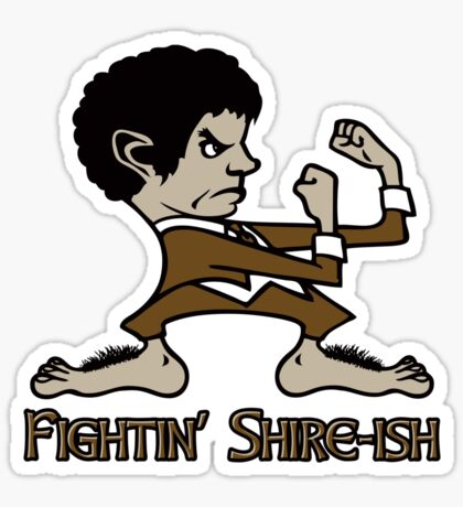 Fighting Shire-ish Sticker