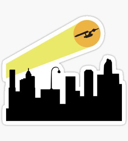 Bat Signal: Starship Sticker