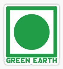 Green Earth Sticker
