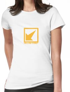 Yellow Comet Womens Fitted T-Shirt
