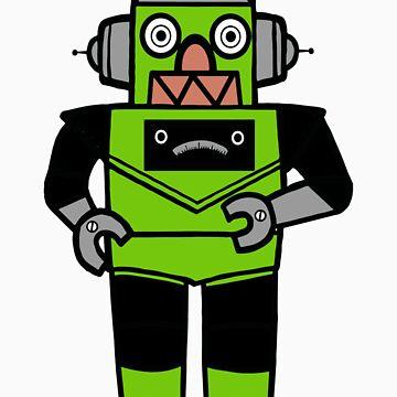Lantern-Bot by rickrayrogers