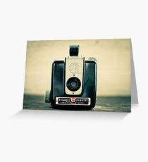 Brownie Hawkeye Greeting Card