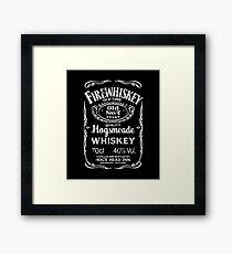 Hogsmeade's Old No.7 Brand Firewhiskey Framed Print