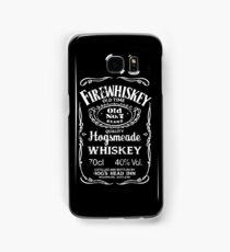 Hogsmeade's Old No.7 Brand Firewhiskey Samsung Galaxy Case/Skin