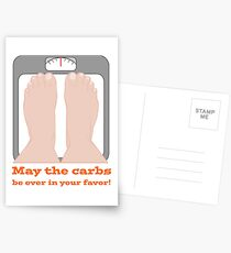 May the carbs be ever in your favor! Postcards