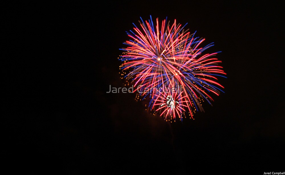 4TH of July fireworks by Jared Campbell