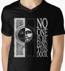 House of No One (White) Mens V-Neck T-Shirt