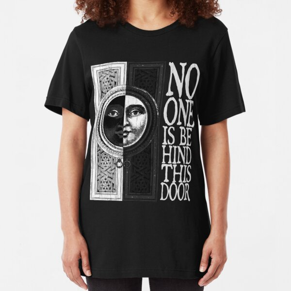 House of No One (White) Slim Fit T-Shirt