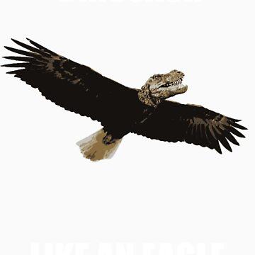 Dinosaur like an eagle by joshbuckling